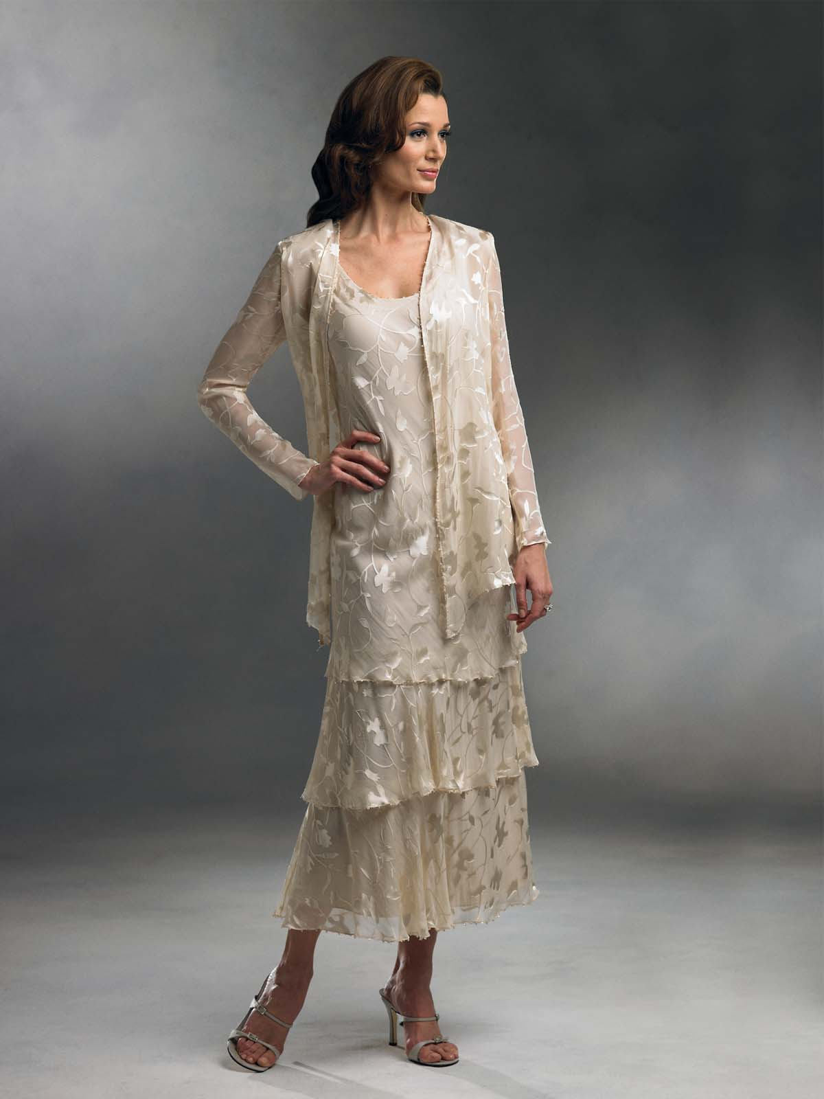 Western Dress for Mother of the Bride