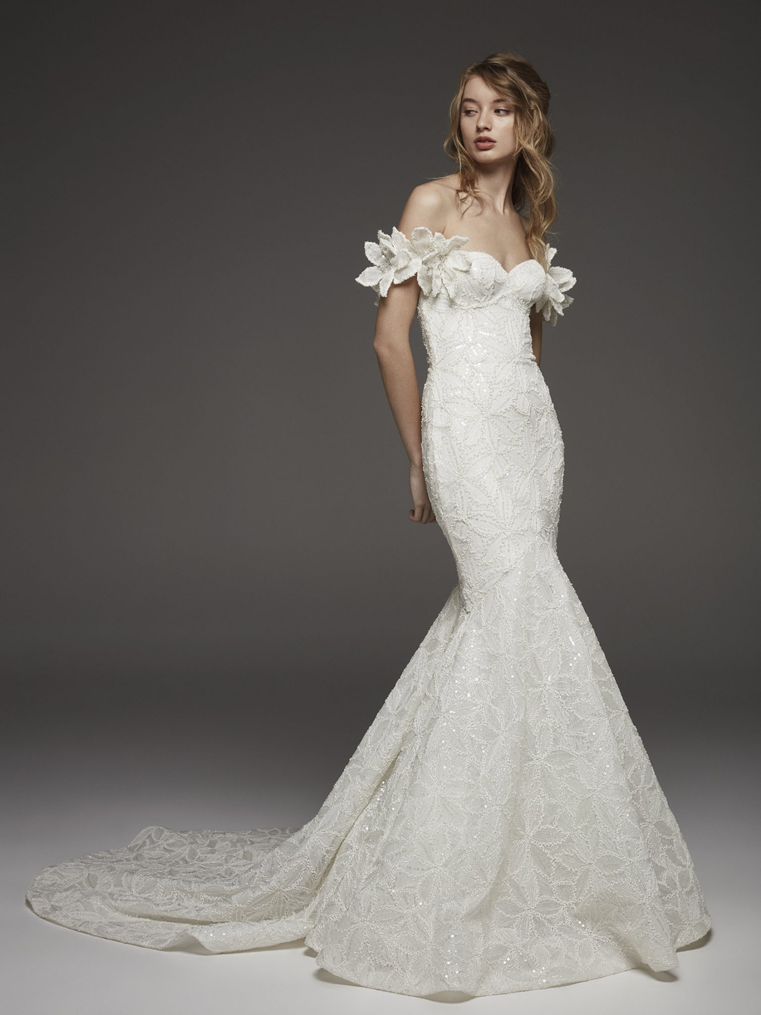 53eeb85865c Atelier Pronovias wedding dresses couture collection from Pronovias