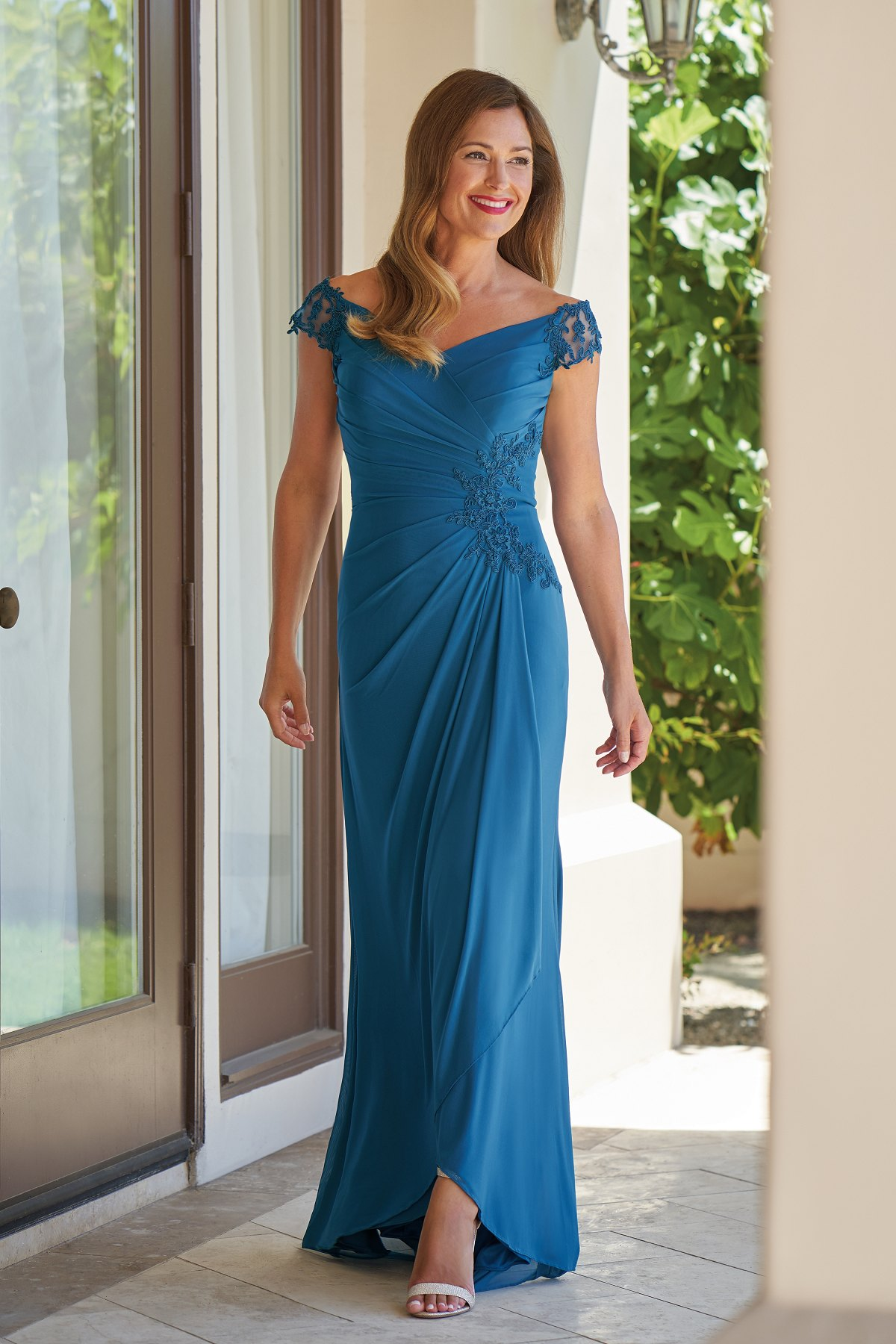 6552d4f980 Jade mother of the bride dresses at Precious Memories