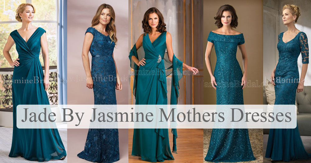 mother of the bride dresses jade